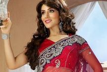Red Saree Fashion