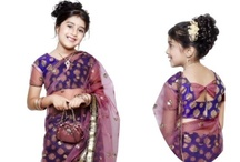 Indian Kids Saree