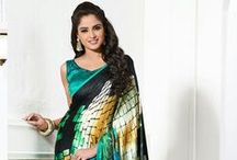Party Wear Sarees / Let move to Bollywood Party fashion trend, we are representing the best Bollywood party wear saree blouse design in various color and fabric. Our designer add the latest net saree design in this collection that is running in latest trend. So get ready to rock on in every party by wearing these bollywood saree design.