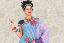 Flower Work Sarees