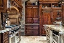 Kitchen / I love everything about kitchens!