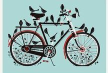 ♥Bikes and Cycling♥ / Love cycling - images, art and funny stuff with a bike theme.