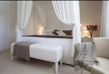 Suites and Apartments @ Baia Bianca / A selection of our best image library showing our Suites and Apartments, each decorated with fine fabrics and interiors and all enjoying breathtaking sea views!