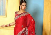 Indian Bridal Sarees / It's time to make your wedding day memorable. It means try to wear something unique, something glamorous, something looks like Princess to get an attention in front of your life partner. We updated here latest Indian designer bridal saree, lehenga style saree, embroidered saree, red saree and more designer wedding bridal saree designs.