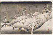 Hokusai and Hiroshige