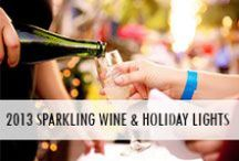 2013 Sparkling Wine and Holiday Lights