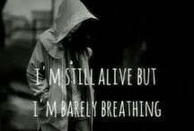 BARELY BREATHING / a Young Adult novel.  formerly IMPERFECTLY FINE