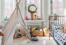 Children's Rooms / space for the kiddies / by Emily Fletcher