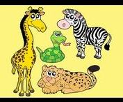 Carnival of the Animals / You Tube links and craft ideas for Carnival of the Animals for preschoolers