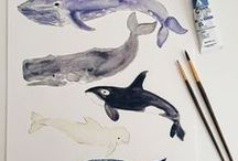 animal illustrations / you might like my drawing / illustrations board :)