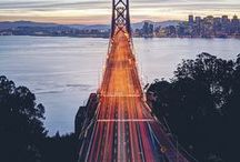 Travel Bucket List: San Francisco, California / The pictures, places, and things that make us want to visit San Francisco, California.