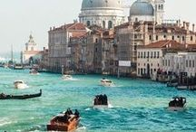Travel Bucket List: Venice, Italy / The pictures, places, and things that make us want to visit Venice, Italy.