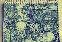 the doodle notebook / ideas for my doodle notebook