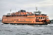 Staten Island Ferry / The Staten Island Ferry is an iconic New York City tourist attraction and a key transportation method for borough residents to Manhattan. #travel #thingstodo