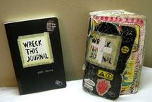 WRECK THIS JOURNAL / SERIOUSLY, YOU SHOULD GET ONE. THEY ARE SO MUCH FUN.