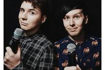 =^.^= DAN AND PHIL =^.^= / my fav long beans