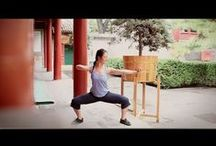 Qigong / I have started practicing Qigung because of my bad back -- it is greatly helping! The reason I chose Qigung is because my husband trains Shalolin Wushu and we both study Chinese language!