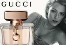 Gucci at Raw Beauty Studio / The company's first fragrance, Gucci No. 1 for women, was introduced came out in 1974.   A selection of fragrances for both men and women have since been launched, with many taking the world by storm and achieving legendary status amongst perfume collectors, including Gucci 3 and L'Arte di Gucci.
