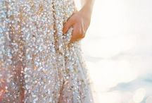 Sparkle & Shine / Glitter and sequins, gold and silver
