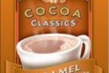Cocoa Classics® flavors / Cocoa Classics® Hot Cocoa Mixes are available in eleven subtly blended flavors. Cocoa Classics are made using nonfat dry milk, not milk by-products, so just add hot water for a rich, creamy, velvety cocoa. Each flavor delicately balances cocoa, creaminess, and sweetness.