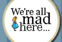 Cross Stitch-Alice in Wonderland