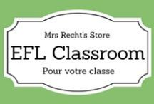 EFL Classroom Decoration and Organization / Ideas to decorate and organize your EFL Classroom