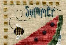 Cross Stitch-Seasons