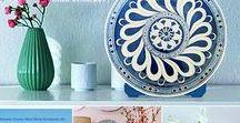 My handmade iznik ceramic arts etsy.com/shop/nurceramicarts / Nur Ceramics & Handmade arts online shop & custom order: https://www.etsy.com/shop/nurceramicarts  Çini ve Özel Tasarımlar.siparis alinir.Etsy üzerinden online özel sipariş verebilirsiniz.
