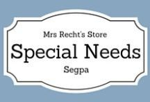EFL Special Needs - Segpa Anglais / EFL documents and lessons shared on my blog and my Tpt Store for SEGPA students.