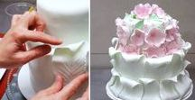 CAKE DECORATING TUTORIALS / DECORACION DE TORTAS