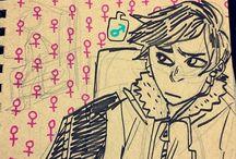 misc. // ftm / ❝ a transgender man, short for female-to-male. ❞