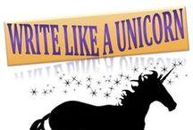 Write Like a Unicorn / Disruptive writing. Magical encouragement. Write happier with www.minalhajratwala.com/coach