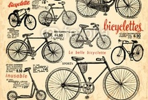 Les 2 roues / Pour me rendre à mon bureau alors j'achète un vélo Un très joli tout nickelé avec une chaîne et deux clefs...