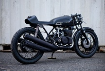 Motorcycle - Cafe - 2 Stroke / by Allen O