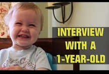 oh well THAT'S funny / if anything else - watch that video of the interview with the one-year-old. it's totally worth your time.  / by Sydney Rovik