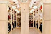 Mommy Can Dream! / Master closets