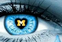 GO BLUE! / University of Michigan and great city of Ann Arbor... / by ML Kramer