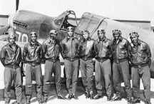 Black Aviation, Tuskegee Airmen art print collection