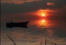 Sea Scenes and boats