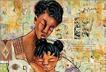 Black Mother Art Prints