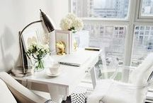 Office / Inspirational spaces to make working at home a little more bearable.