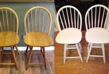 Furniture Refinishing / From tables to chairs to desks. Wallscapers can take a worn piece of furniture and breath new life into it!
