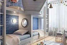 Kids' Rooms / Cool kid spaces!  Lucky little kids:)