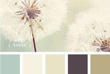 Colour palettes / Beautiful colour combinations