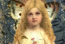 Angels / Angels depicted by a variety of past and present artists.