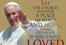 Pope Francis / All kinds of facts, quotes, etc., regarding Pope Francis.