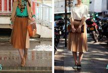Skirts pairings