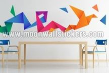 Urban Wall Stickers / moonwallstickers
