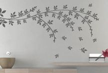 Floral and Nature Stickers / moonwallstickers