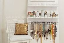 Jewelry Storage / So many ways to store so many beautiful things!